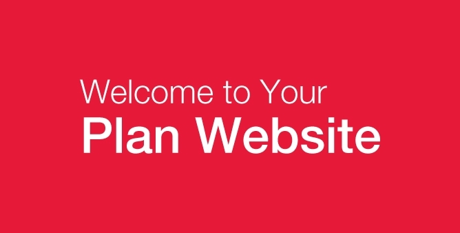 Welcome to your Plan Website